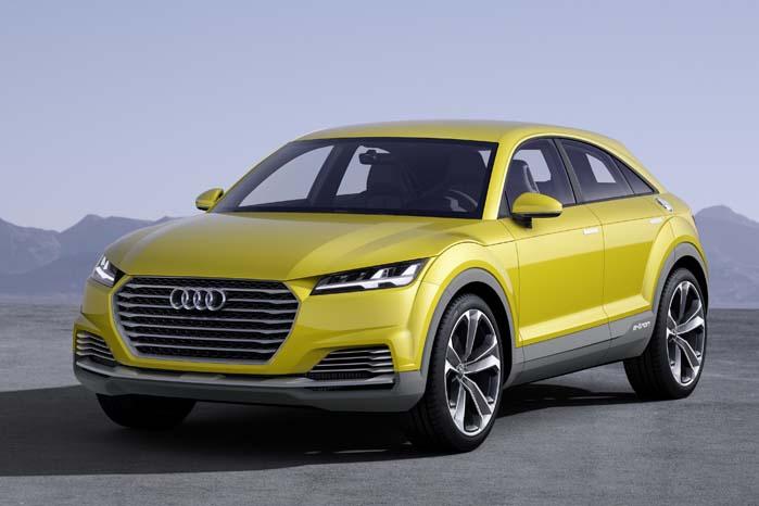 Audi TT Offroad er den seneste 4-hjulstrækker fra specialisterne i Neckarsulm, og der kommer flere endu.