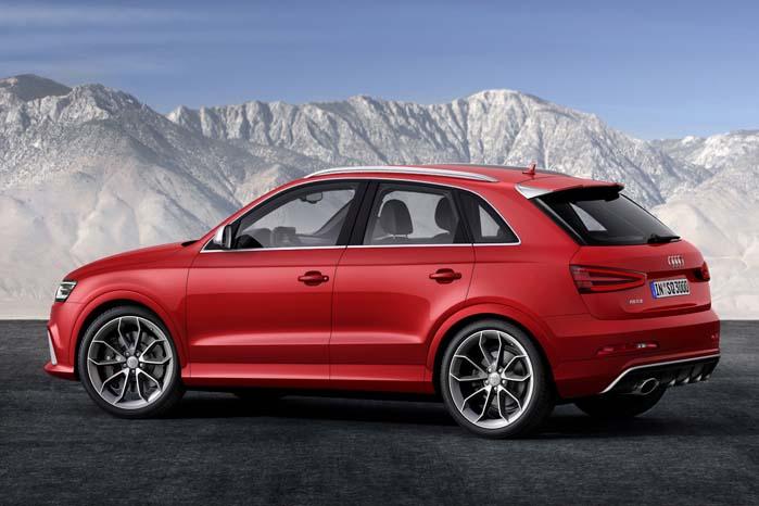 Q3 er i skrivende stund fortsat den mindste model i Q-serien, men skal man tage Audi-bossen Stadler på ordet, vedbliver den nok ikke med at være dét.