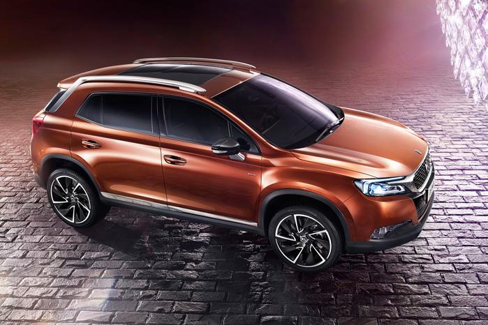 Der er meget DS5 over den nye premium Citroën SUV, men DS6WR er et par numre større