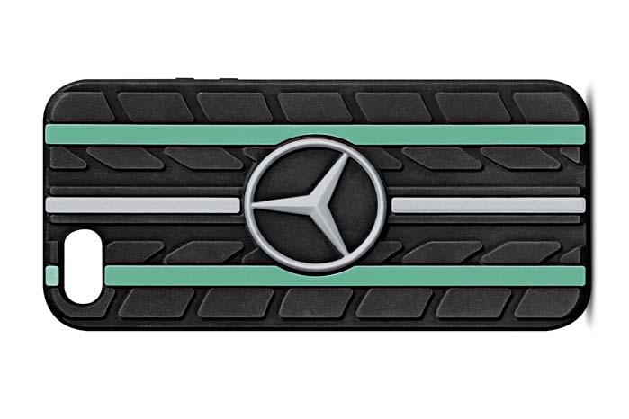 Med et cover fra Mercedes-Benz Collection kan man i det mindste beskytte sin iPhone mod de stød, som tilværelsen byder på.