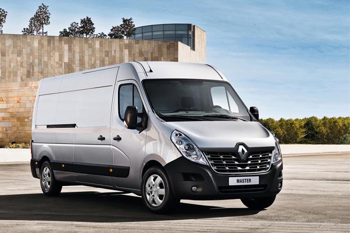 Renault Master fås nu i fire længder og tre højder med valg mellem single- eller dobbelt-monterede baghjul
