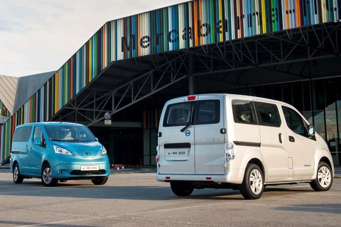 Nissan e-NV200 ser ud til at vippe Mercedes Vito og Renault Kangoo af pinden på PostDanmarks ønskeliste over eldrevne postbiler
