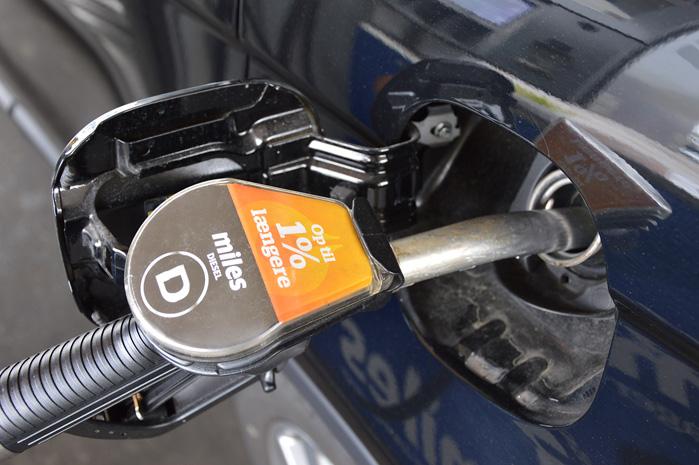 Dieselolien har knap så voldsom effekt på forbruget, men en procent løber hurtigere op, når man kører mange km