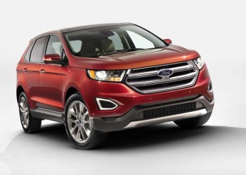 Ford Edge - ny premium-SUV som kommer til Europa i 2015.