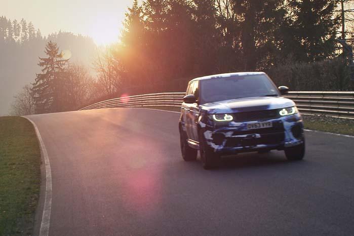 Land Rover er på vej med den hidtil heftigste udgave af Range Rover Sport.