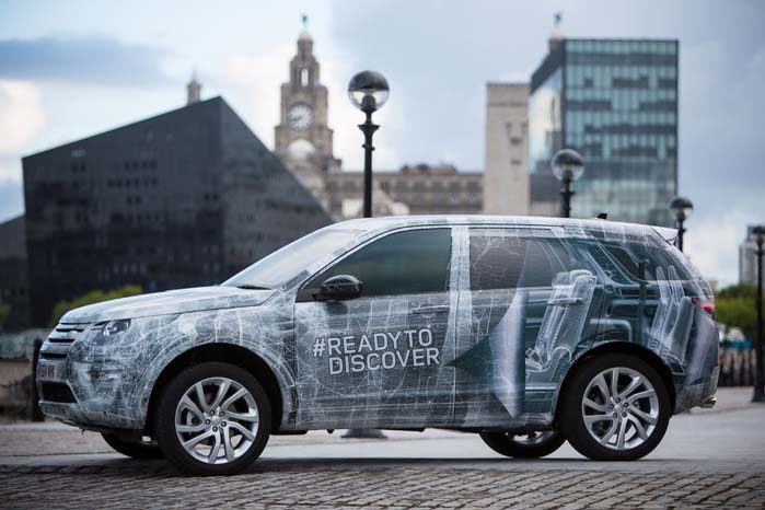 Land Rovers nye kompakte SUV bliver i 2015 et supplement til det eksisterende Discovery-program.