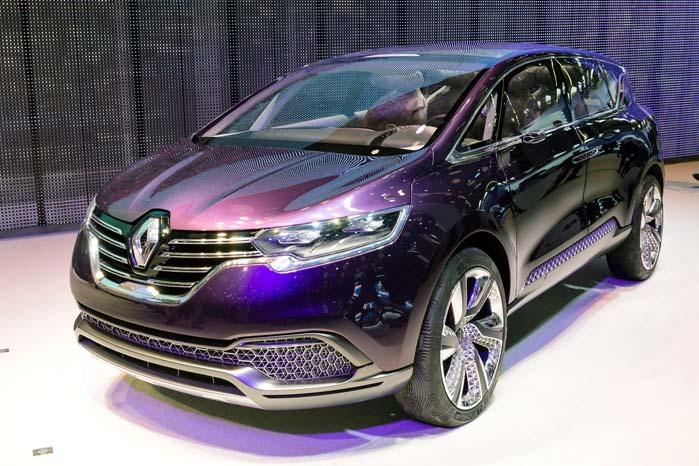 Renault viste i fjor med denne Initiale Paris Concept, hvad der er i vente med afløseren for den nuværende Espace-serie.