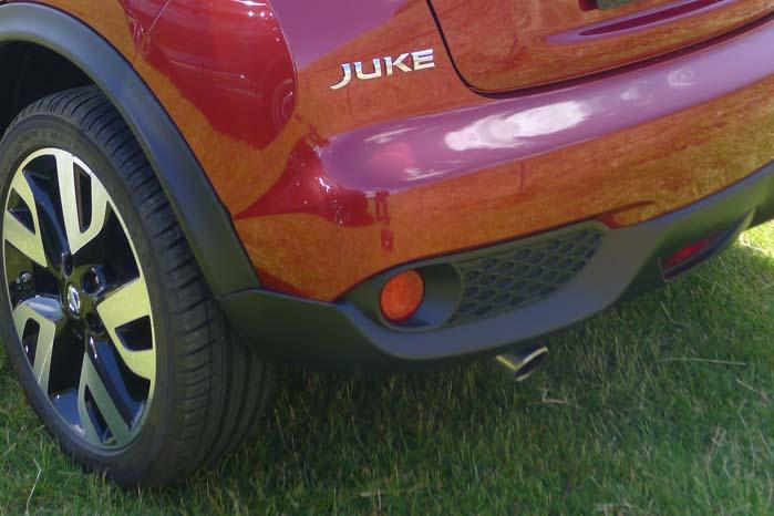 Nissan er ikke bange for markante linier og former, især ikke på Juke.
