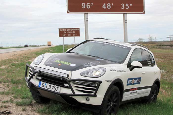 Første del af eventyret var etapen fra det vestligste Frankrig langs den 48° breddegrad til Tatar-strædet.