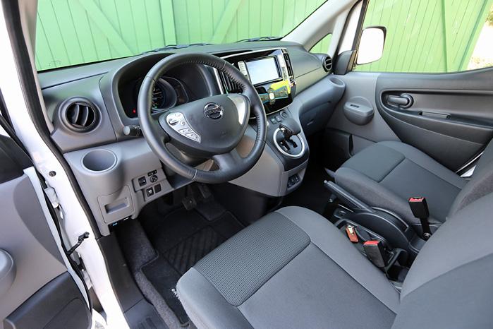 Rattet er bladt de 30 procent af e-NV200, der kommer direkte fra Nissan LEAF