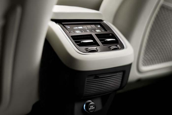 Interiøret bliver præget af komfort- og udstyrsdetaljer.