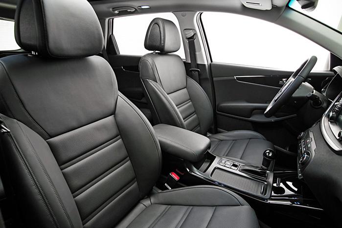 Brede, komfortable lædersæderi størrelse XXL og opefter er designet til det amerikanske marked. Men andre kan nu også have glæde af den magelige indretning