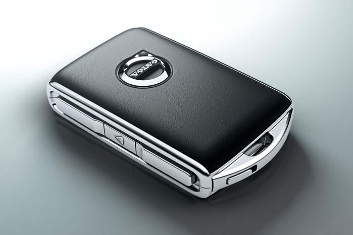 Nøglen til det hele for den, som mobiliserer sig med den kommende Volvo XC90.