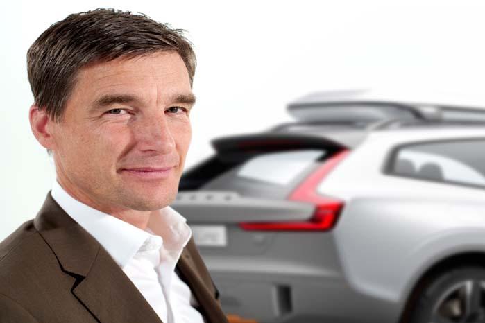 Thomas Ingenlath, Senior Vice President Design i Volvo Car Group: Den nye XC90 er en helt , anden bil end den nuværende, det vil enhver kunne se, når den bliver præsenteret.