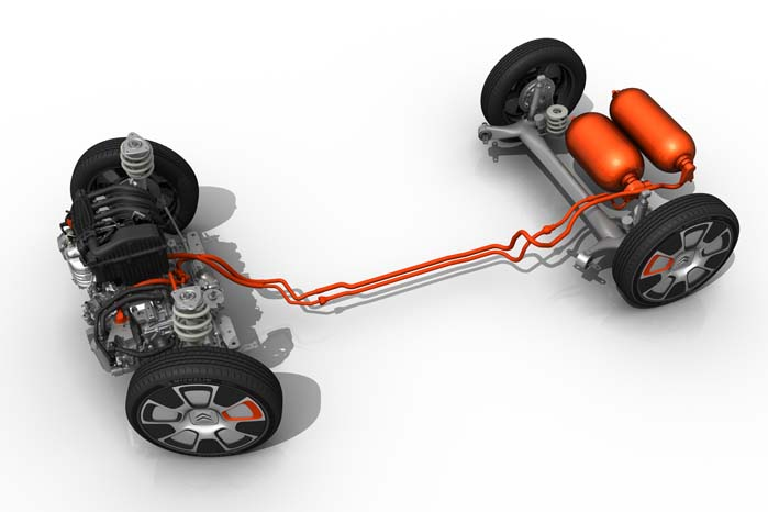 Kombinationen af Hybrid- Air og den 3-cyl. PureTech 82-benzinmotor samt Michelins høje og smalle 19-tommer dæk med lav rullemodstand bidrager ligeledes til Cactus Airflows ekstremt lave brændstofforbrug.