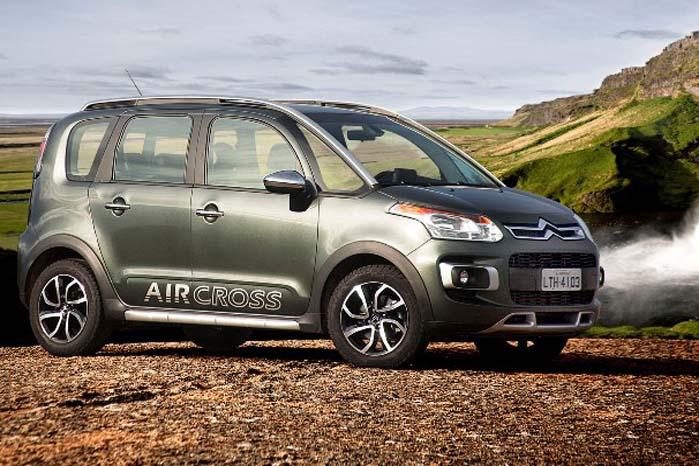 Citroën C3 Aircross - baseret på C3-platformen.