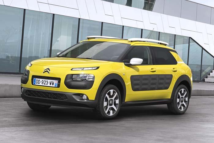 Citroën C4 Cactus - er modelnavnet til trods baseret på C3-platformen, der internt kaldes for PF1, som formentlig også er lagt til grund for den kommende C3-XR.