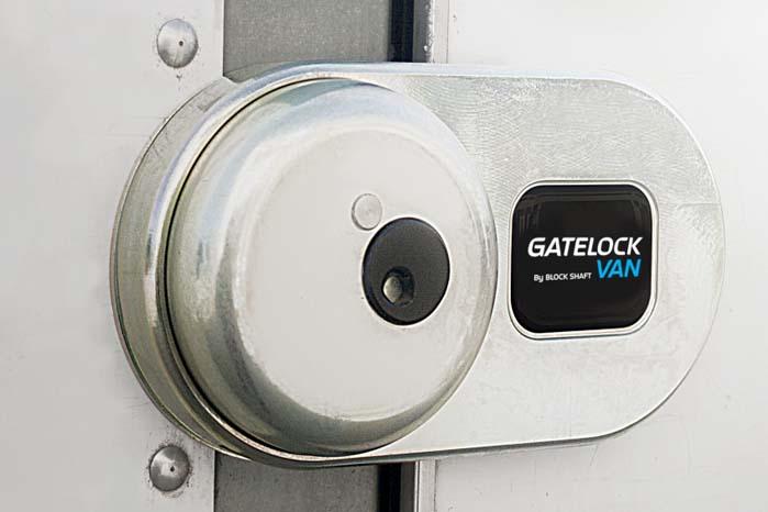 Gatelock GVL er udviklet specielt til kassevogne.