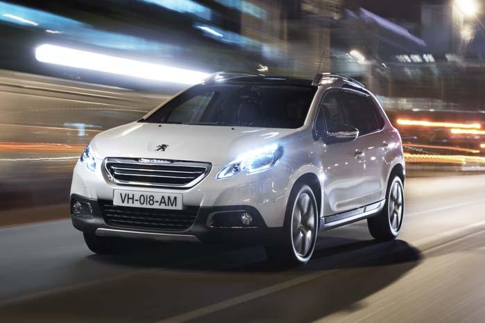 Peugeot 2008 - baseret på PSA-gruppens PF2-platform, der af Citroën anvendes til C4-serien.