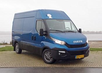 Kasserne i Iveco Daily rummer helt op til 19,6 kubikmeter. Testbilen var udstyret med den nye høje 10,8-kubikmeters varerum