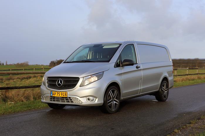 Paletten med tre slags træk, smidigt forhjulstræk, tre længder, større lasteevne og langt bedre komfort gør den nye Vito langt bedre en forgængeren