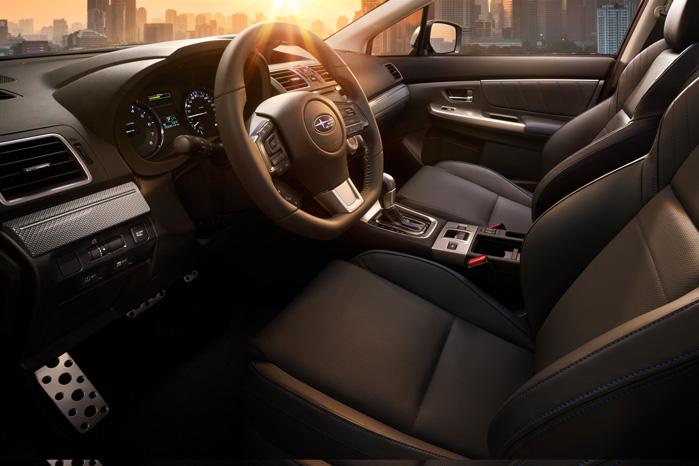 Interiøret er noget mere hyggeligt og langtursindbydende, end vi har været vant til fra de Fuji Heavy Industries-byggede Subaru'er