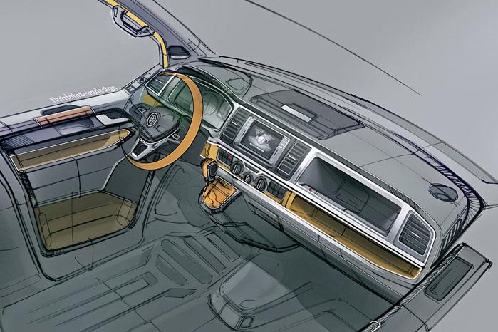 Interiøret bliver rigtigt elegant med den samme streg som i Passat, hvor linjerne er bredt godt ud