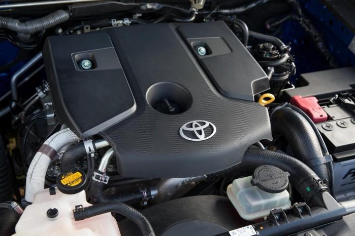 I Danmark får vi nok kun valget mellem de to dieselmotorer, som er 2,4 og 2,8 liter. Den stærkeste yder 179 hk