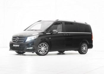 Brabus giver Mercedes Vito og V-klasse mere kant med bodykit, motortun og opgraderede materialer i kabinen
