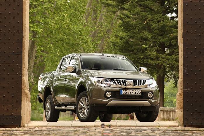Det flotte nye ydre og en generel fremgang i markedet har været gunstigt for Mitsubishi L200
