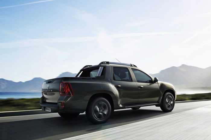 Unge jægere, som endnu ikke har sparet sammen til deres første Land Rover Discovery, vil savle over en Oroch. Plads til hund og kanoner i kabinen og nedlagt vildt på ladet