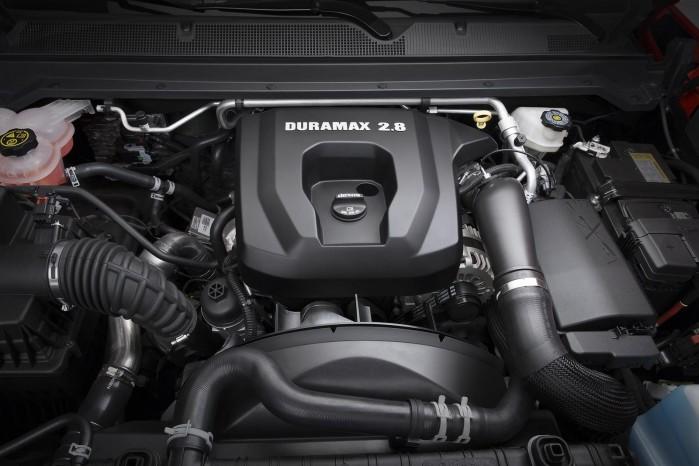 Den nye dieselmotor er på 2,8 liter og yder 183 hk og 500 Nm.