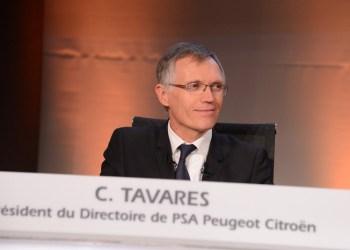 """'Vi har nået vores delmål for vores strategi """"Back in the race"""" hurtigere end forventet, siger øverste chef i PSA, Carlos Tavares"""