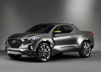 Hyundais pickup er baseret på Tucson, og kan få en dieselmotor fra det europæiske modelprogram.