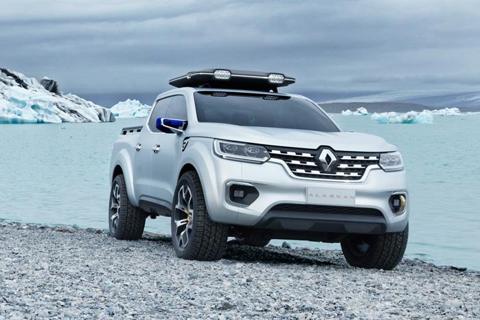Renault kalder deres variant for Alaskan, som her vises som en næsten produktionsklar model