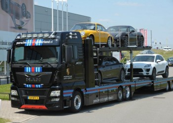 MAN-lastbilen er en TGX med en 400 hestes diesel.