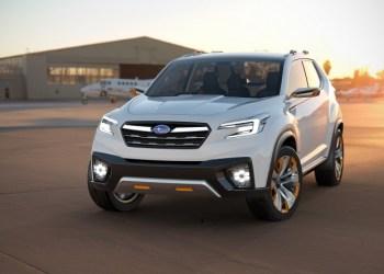 Viziv Future Concept er Subarus bud på en kommende SUV.