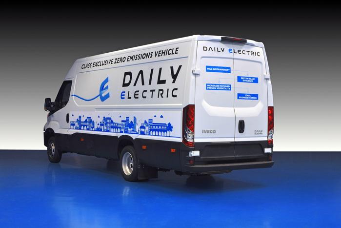 Iveco Daily Electric har bevaret dieselmodellens enorme lastkapacitet