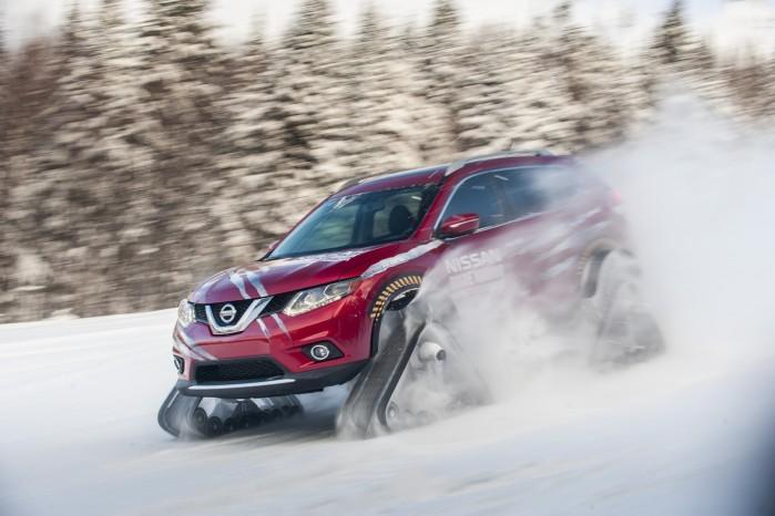 Nissan har vist et koncept, som absolut ikke er bange for lidt sne.