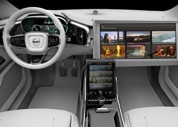 Så ekstremt kan det blive på forsædet af en selvkørende bil i fremtiden. Og streaming-kvaliteten bliver helt uden klumper