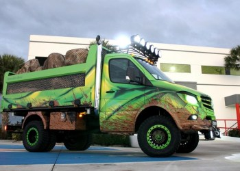 Mercedes Sprinter Extreme Concept – fordi der er en Hulk i os alle.