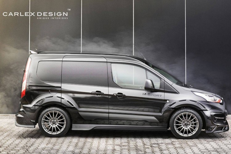 Carlex Design har både sænket bilen og moneteret 19 tommer fælge.
