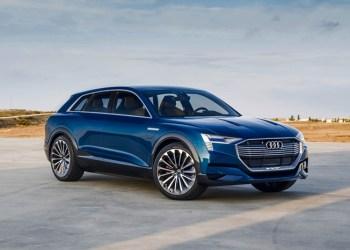 Audi e-Tron SUV'en går i produktion i Belgien i løbet af 2018