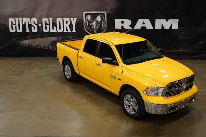 En patriots drøm – Ram Yellow Rose Edition.