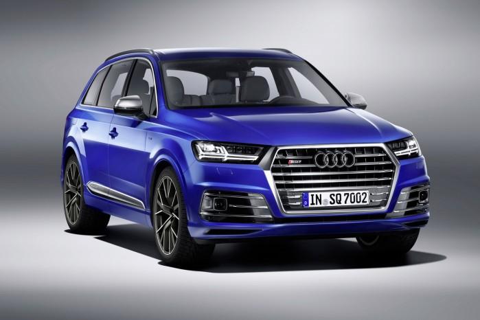 Audi SQ7 – verdens kraftigste diesel-SUV – ifølge Audi selv.
