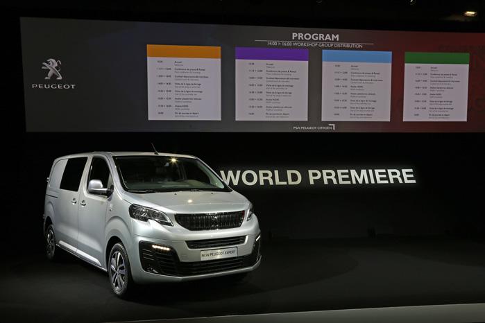 PSA's trillinger, Peugeot Expert, Citroën Jumpy og Toyota Proace måtte deles om andenpladsen