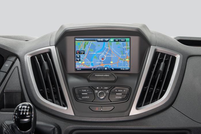 Fra 2017 introducerer Ford næste generation af SYNC infotainmentsystemet