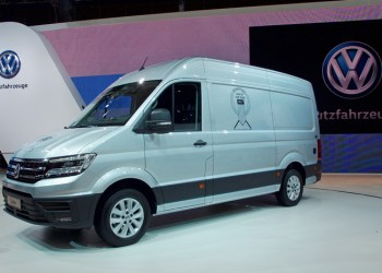 Van of the Year 2017 blev VW Crafter, der vandt foran PSA's trillinger og Iveco Daily