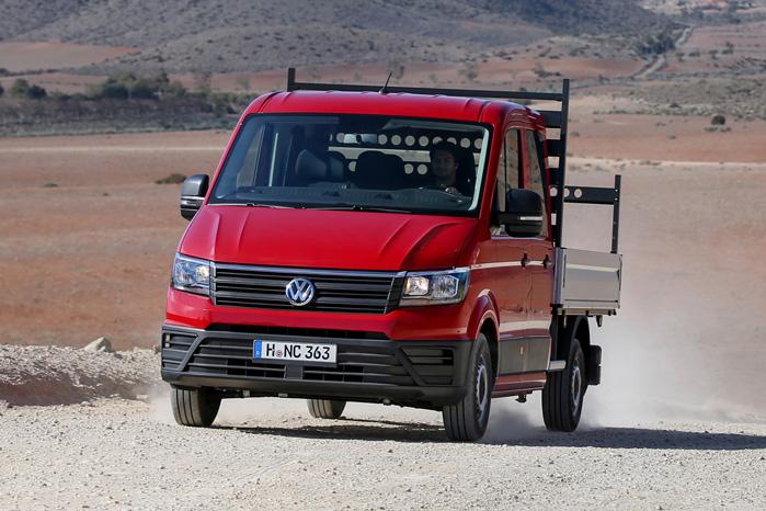 VW vil fordoble salget inden 2020, så chassisbiler, 4Motion, baghjulstrækkere og e-Crafter kommer også til at trække deres del af læsset