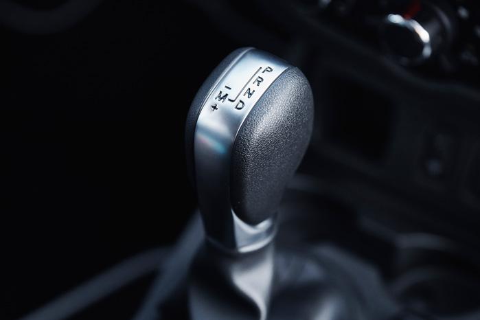 EDC-gearstangen stråler som en blomst på en mødding. Den kan endda skiftes semi-automatisk